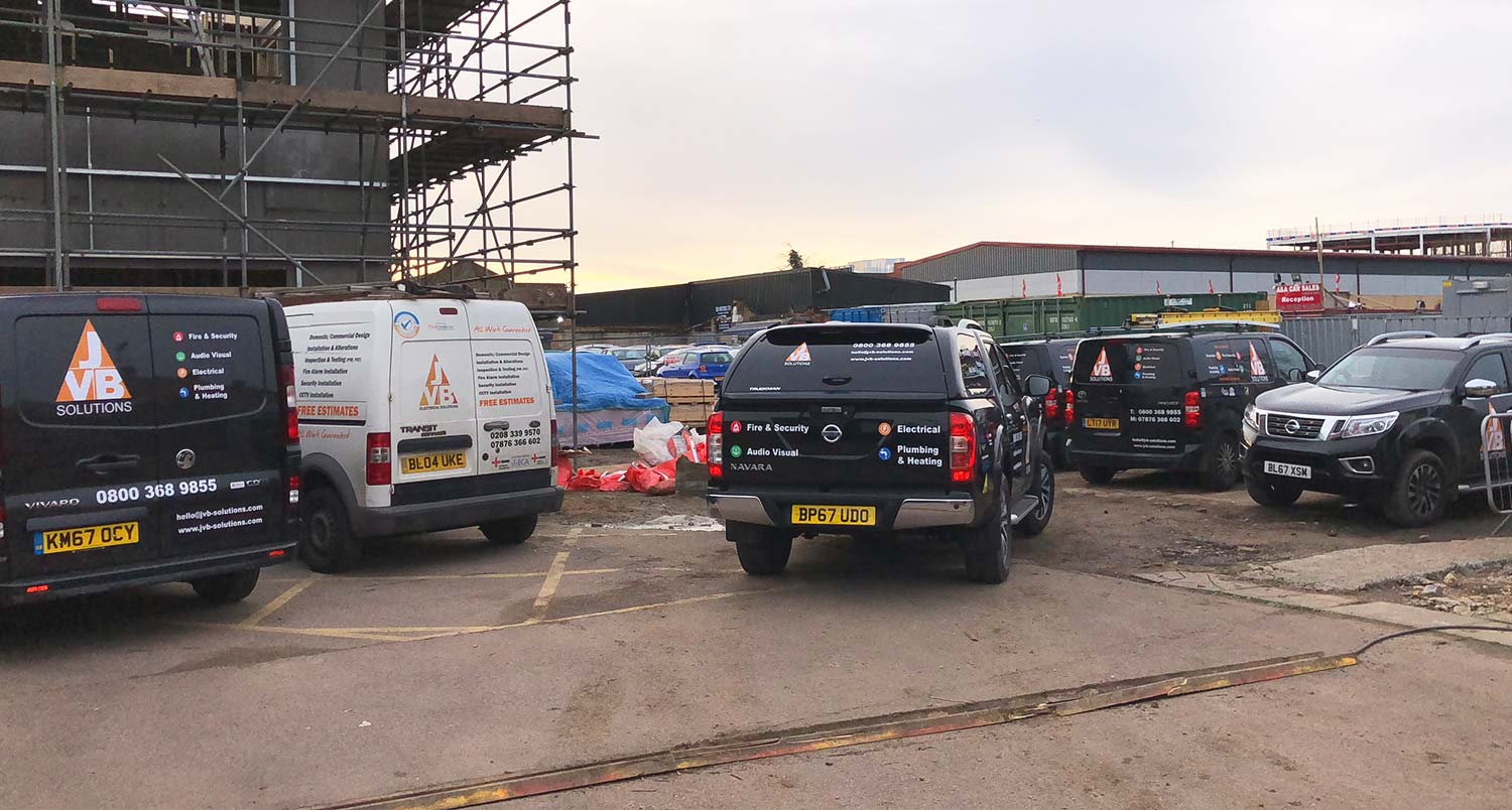 Commercial property build in Surrey