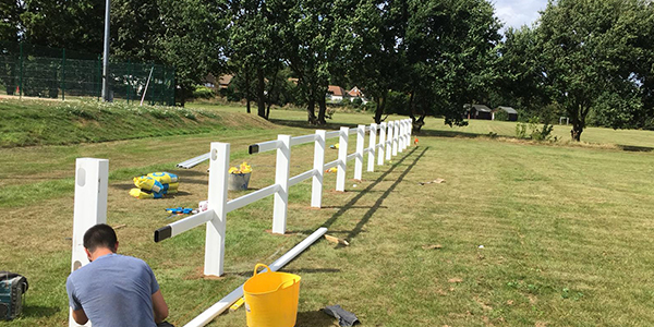 Spectator fencing for Sports CLubs