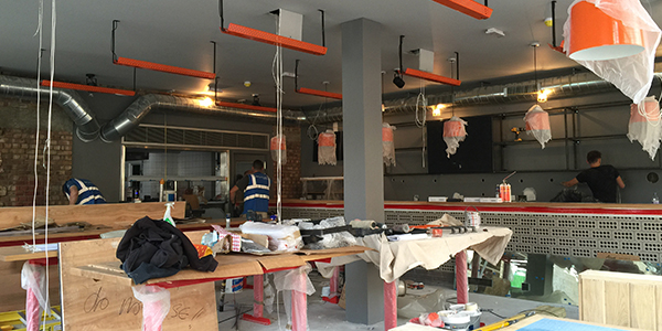 Restaurant fit out in London