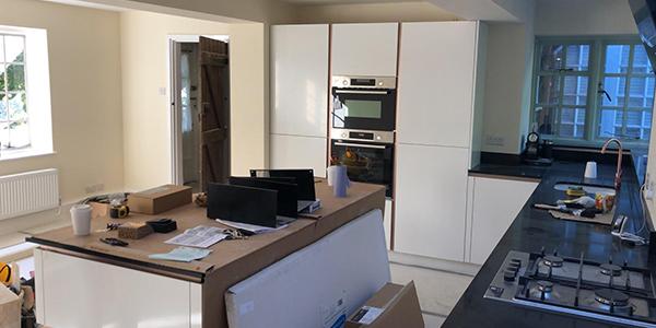 Kitchen installation in Surrey